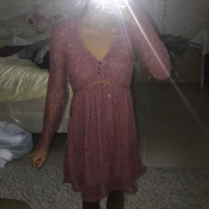 Hollister lace dress
